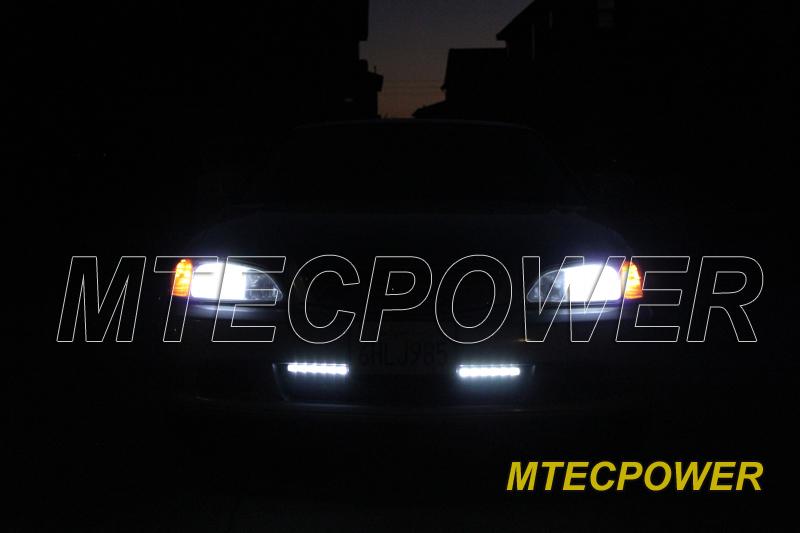 Mtec High Power Cree Led Daytime Running Light Drl Kit Ebay