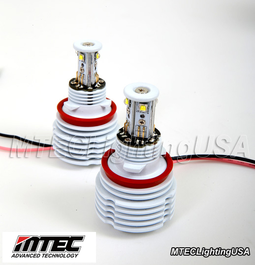 MTEC H8 V3 26W CREE LED Angel Eye Bulbs BMW F01 F02 740Li