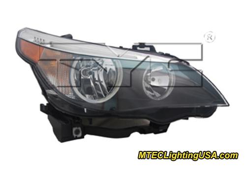Tyc Nsf Right Passenger Side Halogen Headlight For Bmw E60