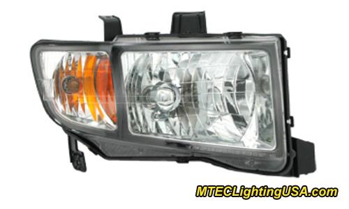 Tyc Right Side Halogen Headlight Lamp Assembly For Honda