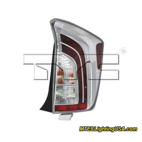 tyc right side tail light lamp assembly for toyota prius. Black Bedroom Furniture Sets. Home Design Ideas