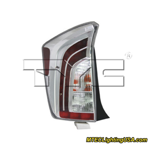 tyc left side tail light lamp assembly for toyota prius. Black Bedroom Furniture Sets. Home Design Ideas