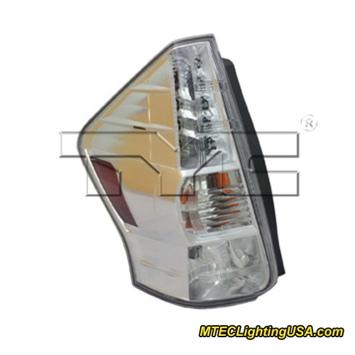 tyc left side tail light lamp assembly for toyota prius v. Black Bedroom Furniture Sets. Home Design Ideas