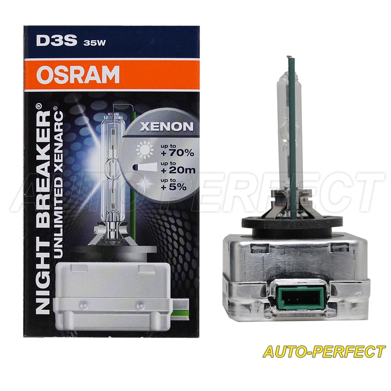 authentic osram xenarc night breaker unlimited d3s hid. Black Bedroom Furniture Sets. Home Design Ideas